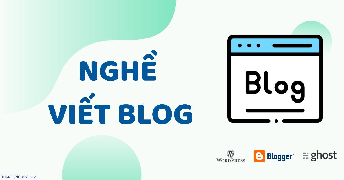 Nghề viết Blog